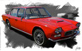 Maserati 400 Quattroporte I, based on a photo by Mick who licensed it CC BY 2.0