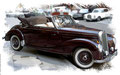 Mercedes 300 S, Cabriolet,  based on a photo by Jason Jacobs with a special License to VectoriX