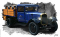 Citroen Truck, based on a photo by Jason Jacobs, with a special License to VectoriX