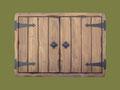 """REF. 299 """"PIEZA ÚNICA"""" CUBRE CUADRO ELÉCTRICO CON CUELGA LLAVES  PINO MACIZO COLOR NOGAL  medidas interiores 45 X 25 X 4 cm. exteriores 50 X 35 X 6 cm. DISPONIBLE 85 €. gastos de envío incluidos"""
