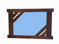 """REF. 429 A """"PIEZA ÚNICA""""  contrachapado color wengé Medidas 86 x 56 cm. DISPONIBLE 120 €. Gastos de envío incluidos"""
