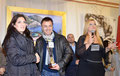 """5 gennaio 2013 - Mottola ( Ta ). Serata di chiusura della 47^ Rassegna Internazionale di Pittura Città di Mottola """" Artisti a confronto """" Momento della premiazione. ( foto C. Pignatelli )"""