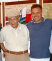 17 ottobre 2015 - Taranto. Purtroppo è venuto a mancare il Prof. Giovanni Reo, un grande Maestro d'Arte e un grande uomo. Grazie Giovanni per avermi dato questo grandissimo onore di essere tuo amico.