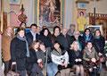 """23 marzo 2013 - Taranto, ex Chiesa Madonna della Scala, via Duomo ( Borgo Antico ). Inaugurazione mostra pittorica """" I luoghi e i riti della Settimana Santa """" 29^ edizione. Foto ricordo. ( Foto di by Cosimo Pignatelli ).)"""