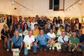 """11 settembre 2016 - Taranto, Galleria Comunale del Castello Aragonese. Foto ricordo degli artisti partecipanti all'undicesima edizione di """"Artisti in passerella"""". (Foto di S.Grano)"""
