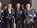 1° Luglio 2017 - Lecce, Anfiteatro Romano. Targa ricordo assegnata dal Direttivo dell'Accademia Italia in Arte nel Mondo ai Componenti del Senato Accademico. ( Italphoto Mesagne )