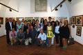 7 settembre 2013 - Taranto, Galleria Comunale del Castello Aragonese. Foto ricordo all'inaugurazione. ( Foto by Cosimo Pignatelli )