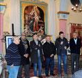 """19 marzo 2016 - Taranto, ex chiesa Madonna della Scala. Serata di apertura della rassegna d'Arte """" I luoghi e i  riti della Settimana Santa"""". ( Foto di Pasquale Raffo)."""