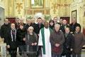 29 gennaio 2012 - Taranto, Chiesa di Sant'Agostino nel Borgo Antico. Foto ricordo in occasione della Santa Messa degli Artisti. ( Foto F.Paolo Occhinegro )