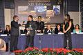 """10 dicembre 2011 - Lecce, Grand Hotel Tiziano. Serata di premiazione per l'Alto Riconoscimento Artistico """" Van Gogh 2011 """". (Italphoto)."""