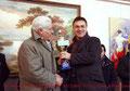 """5 gennaio 2011 - Mottola ( Ta ) - 45^ rassegna internazionale di pittura """" Artisti a confronto """". Premiazione."""