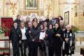 30 gennaio 2011 - Taranto, Chiesa di Sant'Agostino nel Borgo Antico. Foto ricordo in occasione della Santa Messa degli Artisti, organizzata dal Circolo Culturale F.lli Rosselli.( Foto F.Paolo Occhinegro )