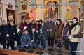 """16 dicembre 2013 - Taranto, ex chiesa SS.Maria della Scala. Rassegna pittorica """"La Città e il Natale """". Foto ricordo.  ( Foto by Cosimo Pignatelli )"""