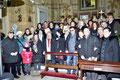 13 gennaio 2013 -  Taranto, Chiesa di Sant'Agostino nel Borgo Antico. Foto ricordo in occasione della Santa Messa degli Artisti. ( Foto by Cosimo Pignatelli )