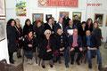 """4 marzo 2017 - Taranto, presso l' Associazione Culturale """"Lae Città che vogliamo"""" , via Fiume 12. Apertura della rassegna  collettiva d'Arte Visiva.  Foto ricordo. ( Foto di F.P. Occhinegro ). )"""