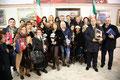 """5 gennaio 2012 - Mottola ( Ta ). Chiusura della 46^ rassegna internazionale di pittura """"Artisti a confronto"""" Città di Mottola. Foto ricordo.( Foto P. Cardetta )"""