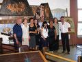 1° agosto 2009 - Policoro ( MT ). Sala Consigliare del Comune, foto ricordo.