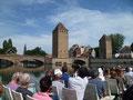 Strasbourg en bateau l'après-midi