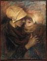 Lucien Lévy-Dhurmer (1865-1953), La mère bretonne, pastel, 1915.