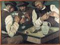 Pierre de Belay (1890-1947), La partie de cartes, 1924, huile sur toile