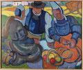 Pierre de Belay (1890-1947), Le casse-croûte en Bretagne, 1933, huile sur toile