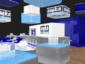Messestandkonzept für Emka Beschläge in Zusammenarbeit mit surpreyes GmbH