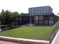 In Volksroda wurde der ehem.Christuspavillon  der EXPO 2000 in eine Klosteranlage integriert