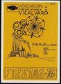 Cartel Fiestas de Vicálvaro 1976 (Imagen: memoriademadrid.es)