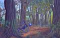 Parallel Universum - Acryl auf Leinwand - 116 * 75 cm - 2015