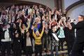 Abschlusskonzert des 21. Gospelchortreffens - 17.9.2017 - Gethsemanekirche Berlin (Foto: Dieter Wendland)