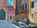 venetië, acryl op paneel, 40 x 52, 2014
