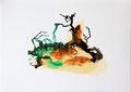 Termitenhügel 3, 34 x 48 cm