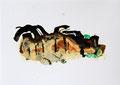 Termitenhügel 5, 34 x 48 cm