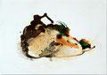 Termitenhügel 2, 34 x 48 cm