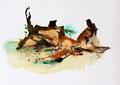 Termitenhügel 1, 34 x 48 cm
