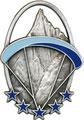 Дипломный знак парапланериста. ЦЕНА 700 руб.