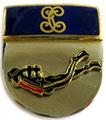 Испания.Принадлежность к группе боевых пловцов Гражданской Гвардии. ЦЕНА 550 руб.