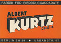 Albert Kurtz Berlin 1938