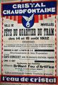 1932 Fête du quartier du tram (collection famille Marchand)