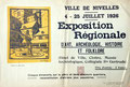 Juillet 1926 - Exposition régionale (collection famille Collet)