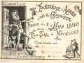 2 mars 1890 - Fiesse au Foc Sâl par la Gavotte (troisième année)