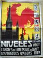 13 août 1922 - Congrès de littérature et d'art dramatique wallons (collection famille Collet)