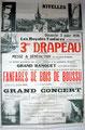 1938 Inauguration du 3e drapeau des Amis de la Concorde. Photos d'Octave Sanspoux