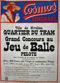 Vers 1930 Concours de jeu de balle au quartier du tram (collection famille Marchand)