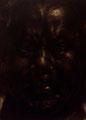 自画像 銅板画