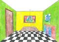 """Perspektive """"Ich richte mein Zimmer ein"""", Angelina Fischer, Klasse 9"""