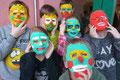 Masken, Klasse 4 (Werken und Gestalten)