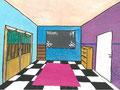 """Perspektive """"Ich richte mein Zimmer ein"""", Charlotte Essert, Klasse 9"""