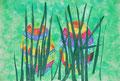 Ostereier im Gras, Selina Huller, Klasse 1