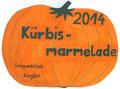 Etikett Kürbismarmelade, Svenja Pfeifroth, Klasse 9